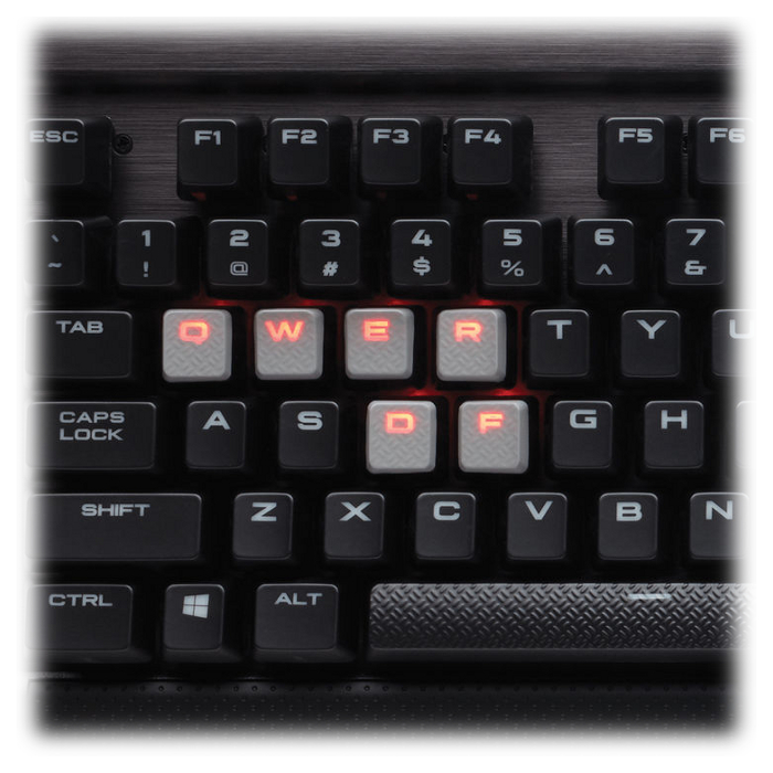 Клавіатура CORSAIR K70 Rapidfire Mechanical Gaming Cherry MX Speed RU (CH-9101024-RU)