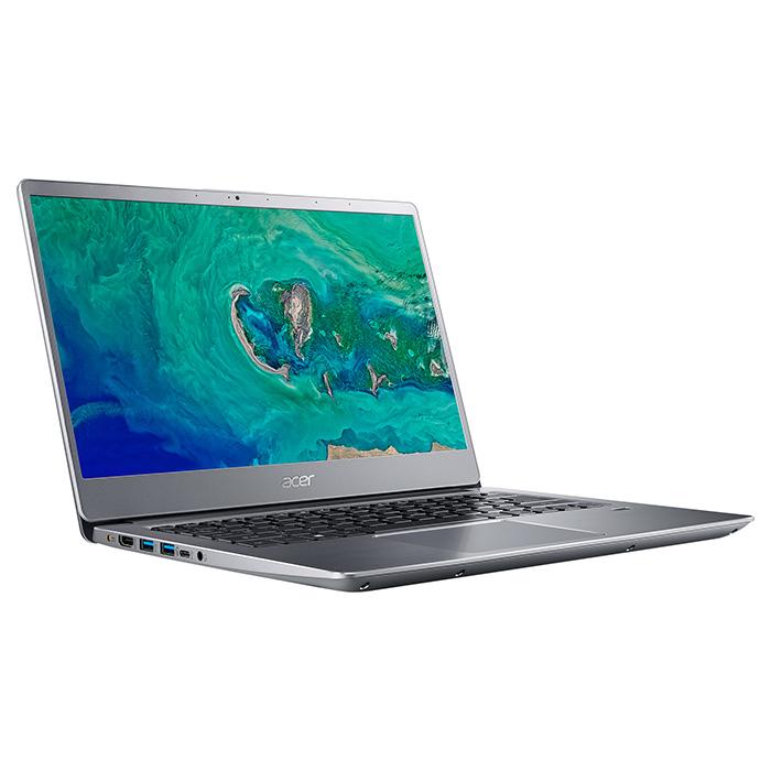 Ноутбук ACER Swift 3 SF314-56-561K Sparkly Silver (NX.H4CEU.030)
