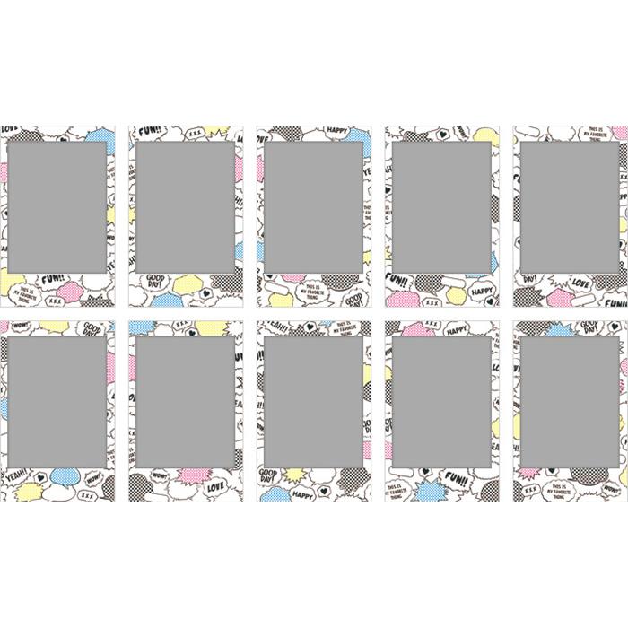 Папір для камер миттєвого друку FUJIFILM Instax Mini Comic 10шт (16404208)
