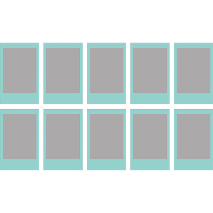 Папір для камер миттєвого друку FUJIFILM Instax Mini Sky Blue 10шт (16537055)