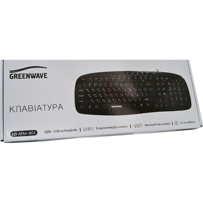Клавіатура GREENWAVE KB-MM-801 (R0015248)