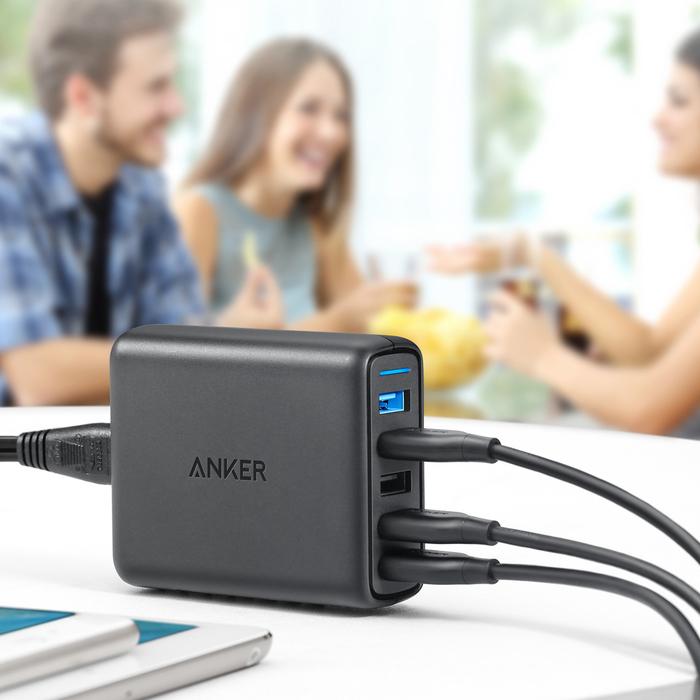 Зарядное устройство ANKER PowerPort Speed 5 (A2055G11)