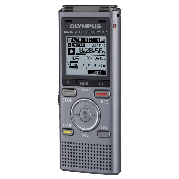 Диктофон OLYMPUS WS-832 4GB Gray