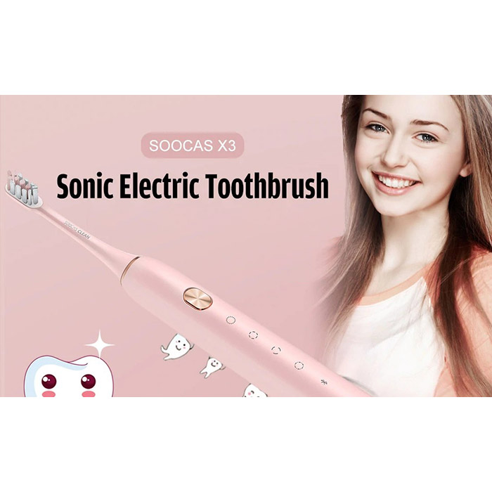 Зубная щётка XIAOMI SOOCAS X3 Pink