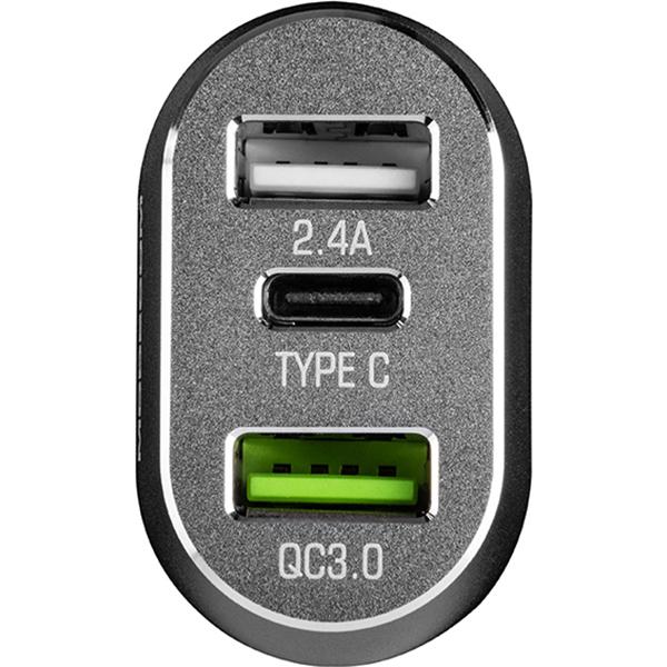 Автомобильное зарядное устройство MODECOM MC-CU2C1-07
