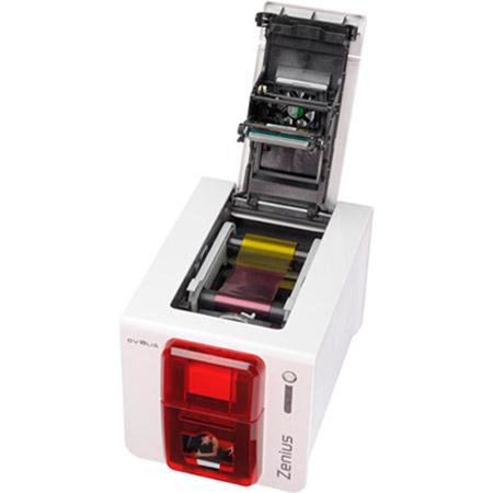 Принтер для друку на пластикових картах EVOLIS Zenius Fire Red