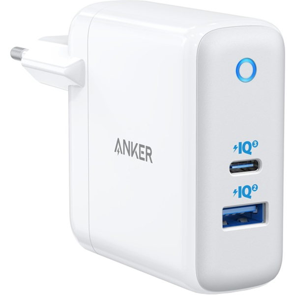 Зарядное устройство ANKER PowerPort Atom III White (A2322321)