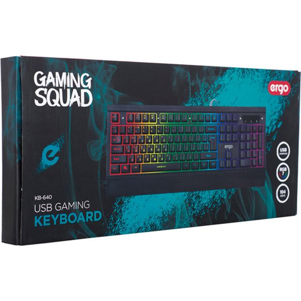 Клавіатура ERGO KB-640