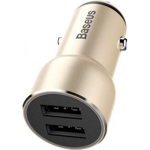 Автомобильное зарядное устройство BASEUS USB Car Charger Adorkable Gold (CCJR-0V)