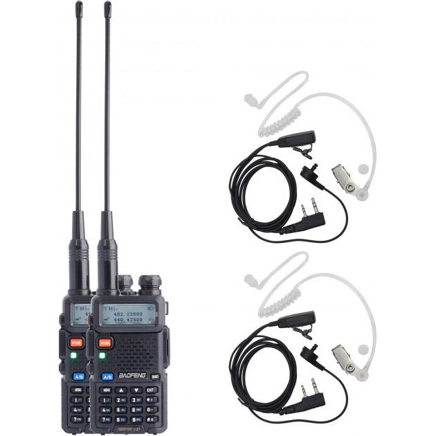 Набор раций BAOFENG DM-5R Security Black 2-pack