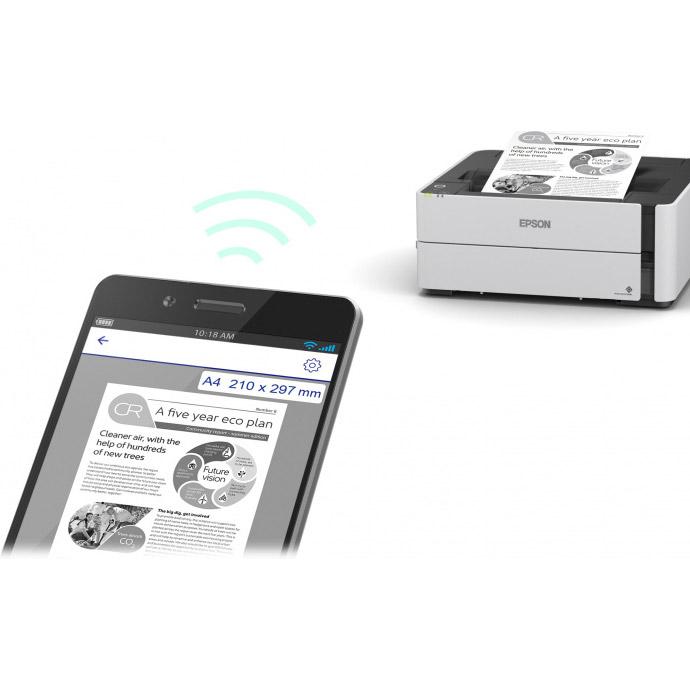 Принтер EPSON EcoTank Monochrome M1180 (C11CG94405)