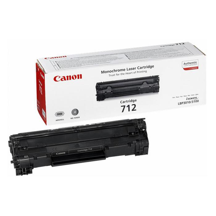 Тонер-картридж CANON 712 Black (1870B002)