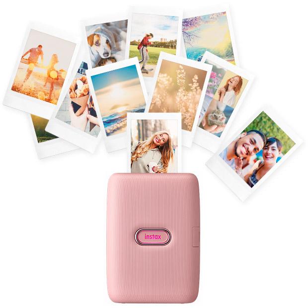 Мобільний фотопринтер FUJIFILM Instax Mini Link Dusky Pink