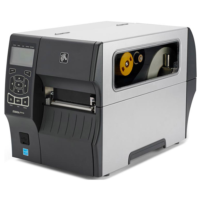 Принтер етикеток ZEBRA ZT410 USB/COM/BT/LAN with RTC (ZT41042-T4E0000Z)