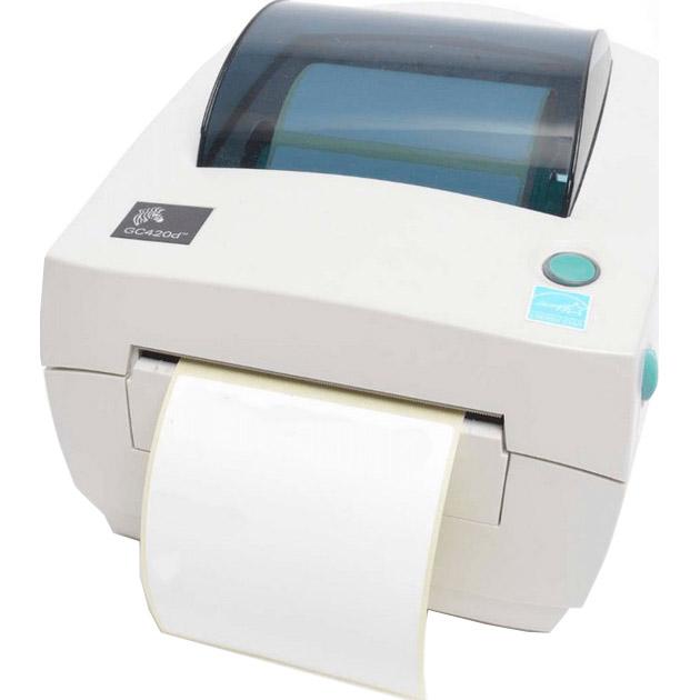 Принтер етикеток ZEBRA GC420d USB/LAN (GC420-200420-000)