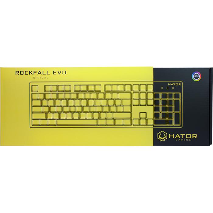 Клавіатура HATOR Rockfall EVO (HTK-610)