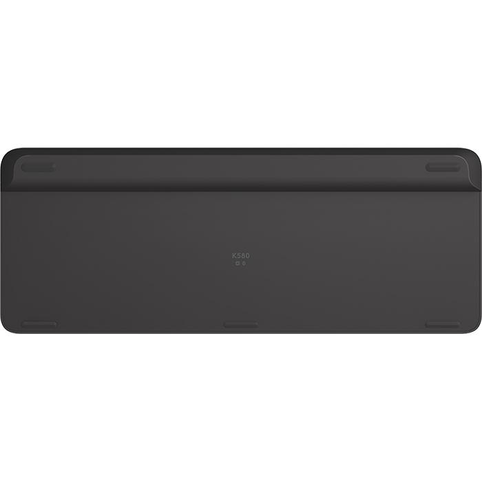 Клавіатура бездротова LOGITECH K580 Multi-Device Graphite (920-009275)