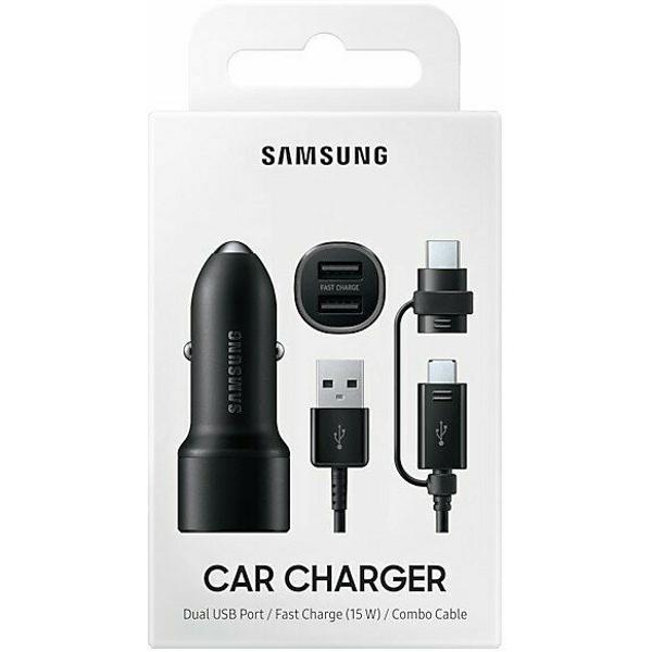 Автомобильное зарядное устройство SAMSUNG EP-L1100W (EP-L1100WBEGRU)
