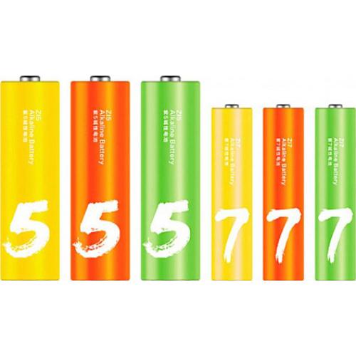 Батарейка XIAOMI ZMI Rainbow ZI5/ZI7 AA 24шт/уп (Z15AA/Z17AAA)