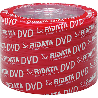 DVD-R RIDATA Printable 4.7GB 16x 50pcs/wrap (907WEDRRDA088)