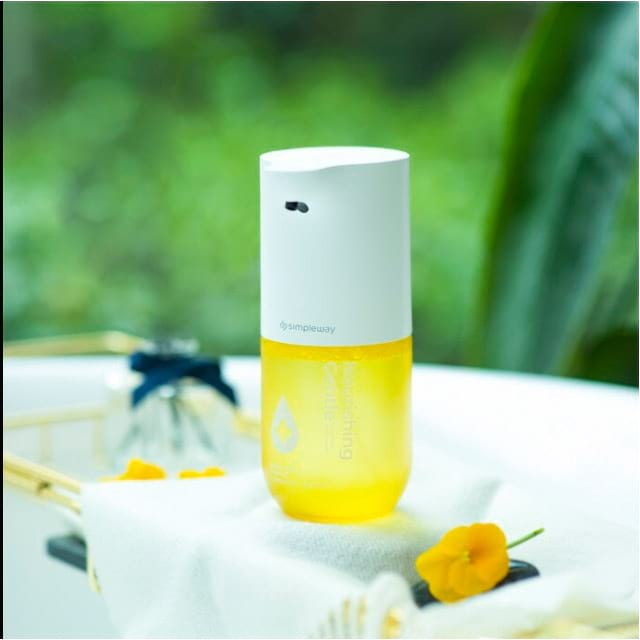 Дозатор жидкого мыла XIAOMI Simpleway Yellow (ZDXSJ02XV)