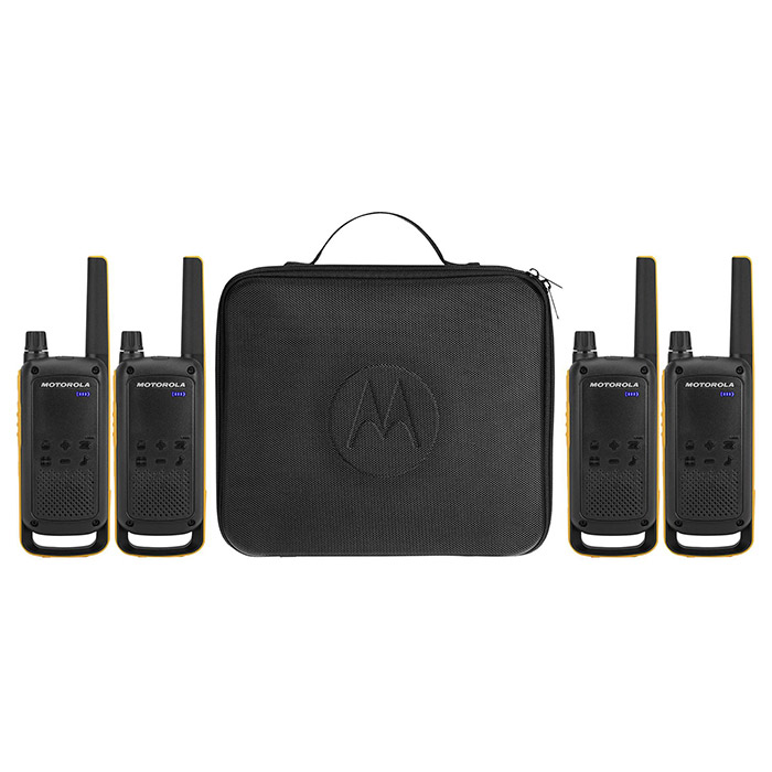 Набор раций MOTOROLA Talkabout T82 Extreme Tourism 4-pack