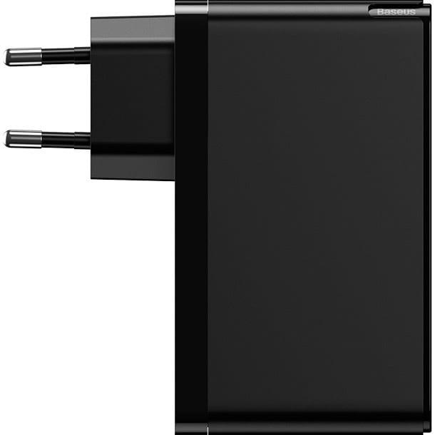 Зарядное устройство BASEUS GaN Mini Quick Charger 120W Black (CCGAN-J01)