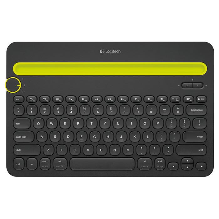 Клавіатура бездротова LOGITECH K480 Multi-Device (920-006368)