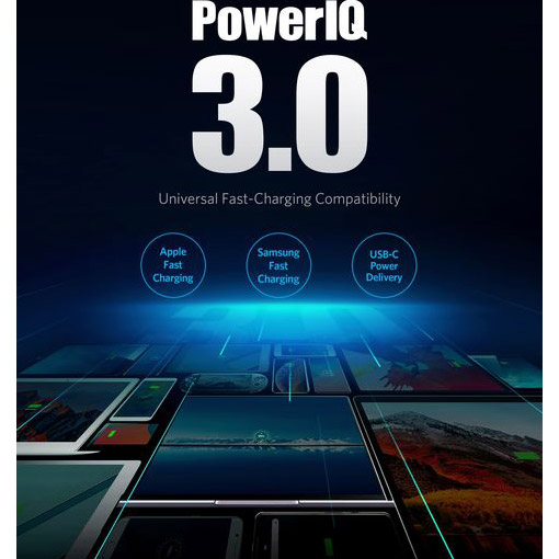 Зарядное устройство ANKER PowerPort III Duo 36W White (A2628321)