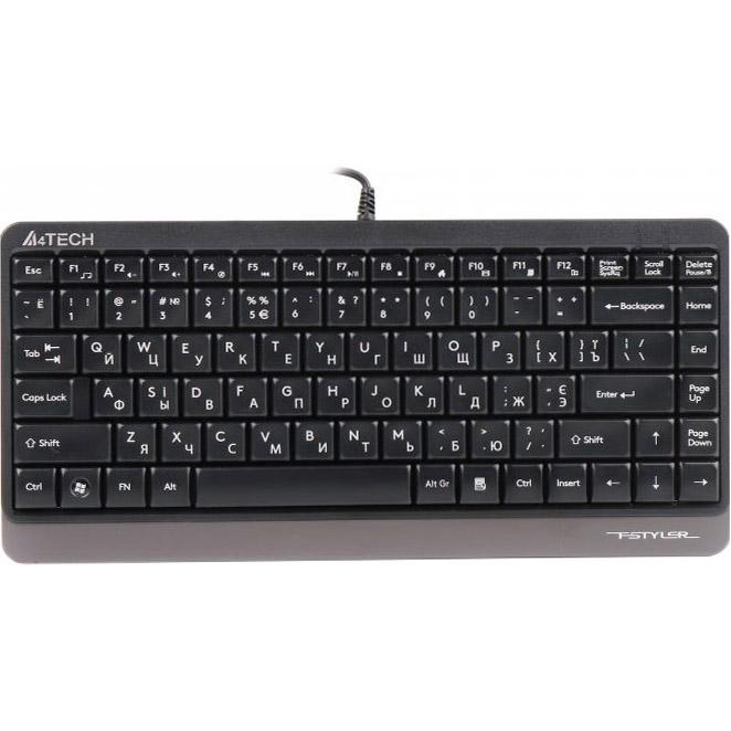 Клавіатура A4TECH Fstyler FK11 Gray