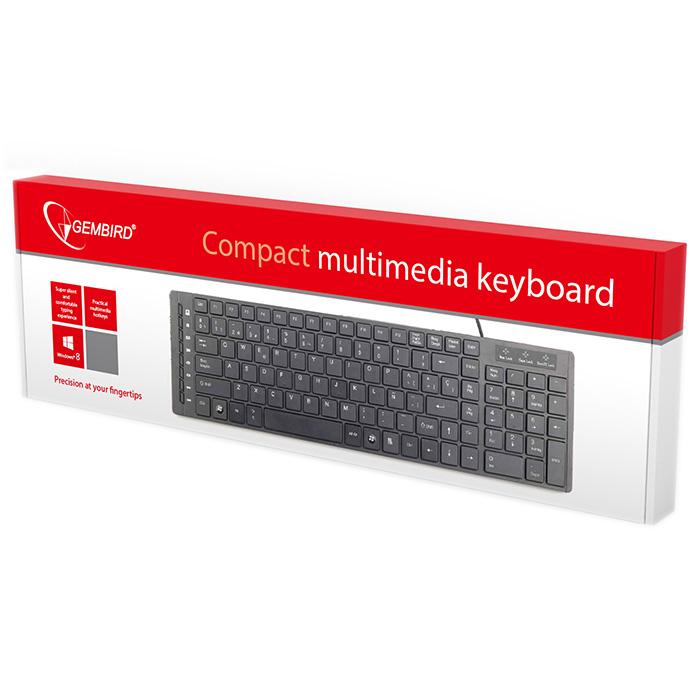 Клавіатура GEMBIRD KB-MCH-01 (KB-MCH-01-RU)