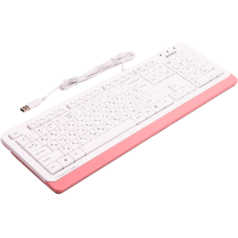 Клавіатура A4TECH Fstyler FK10 Pink
