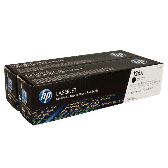 Тонер-картридж HP 126A Dual Pack Black (CE310AD)