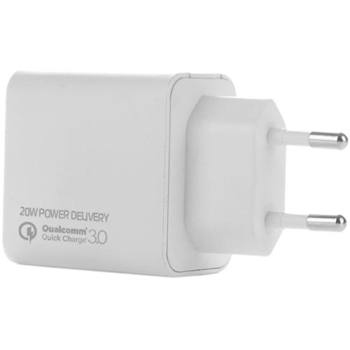 Зарядное устройство COLORWAY CW-CHS023PD-WT