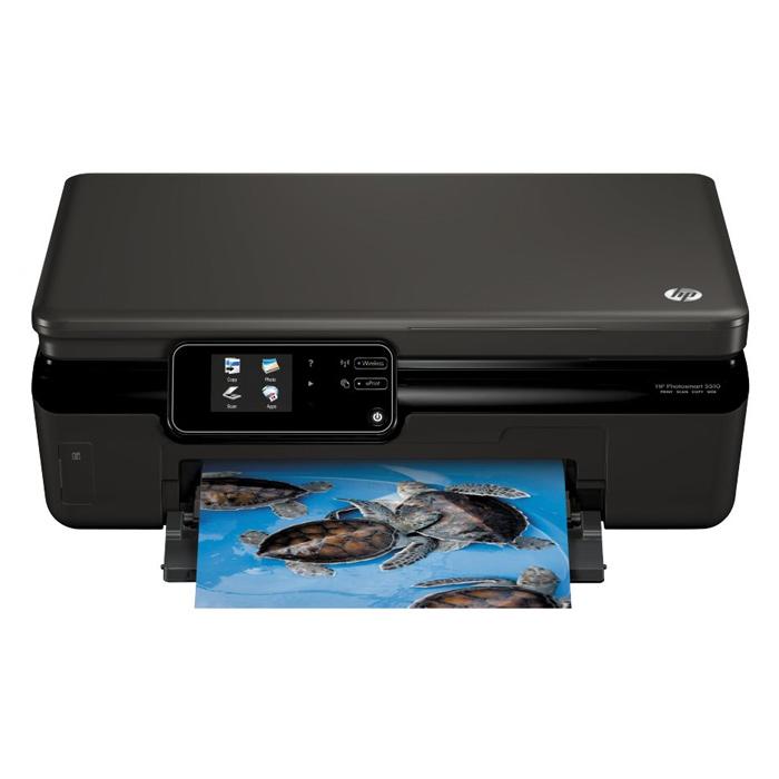МФУ HP Photosmart 5510 Black (CQ176C)