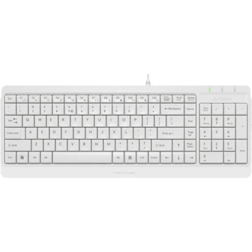 Клавіатура A4TECH Fstyler FK15 White