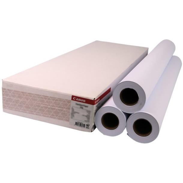 """Рулонний папір для плотерів CANON Standard (90) 24"""" 610mm x 50m 3-pack (1570B007)"""