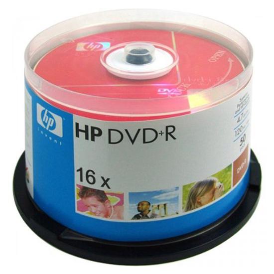 DVD+R HP 120min/4.7GB 16x (сake 50шт) (DRE0027/50)