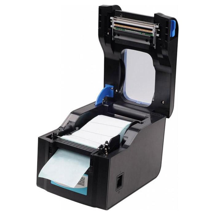 Принтер етикеток XPRINTER XP-370BM (USB, Ethernet)