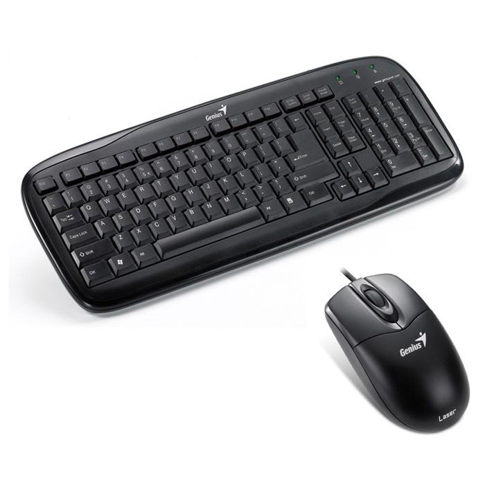 Комплект GENIUS SlimStar C110 PS/2 Black