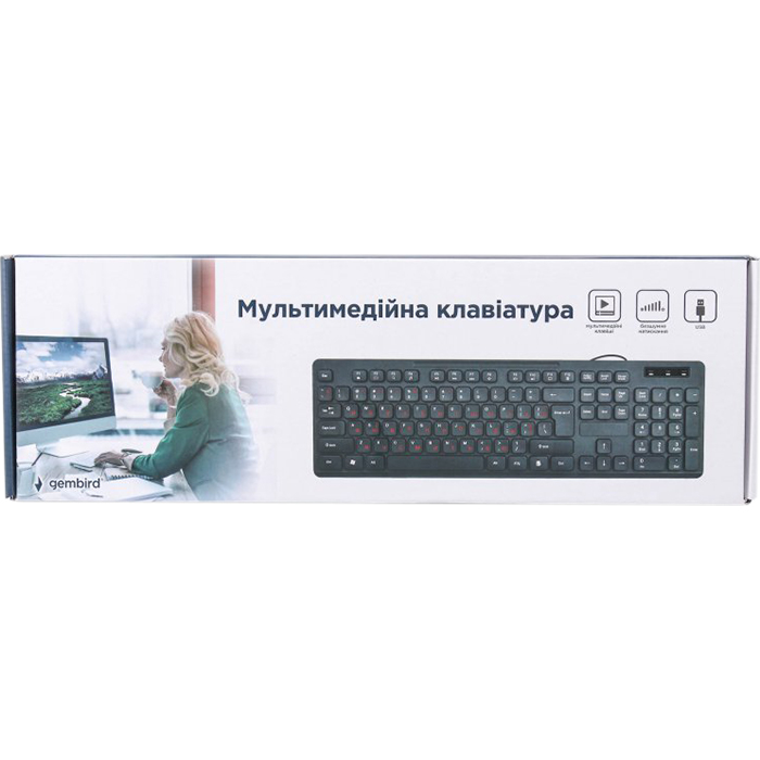 Клавіатура GEMBIRD KB-MCH-04-UA