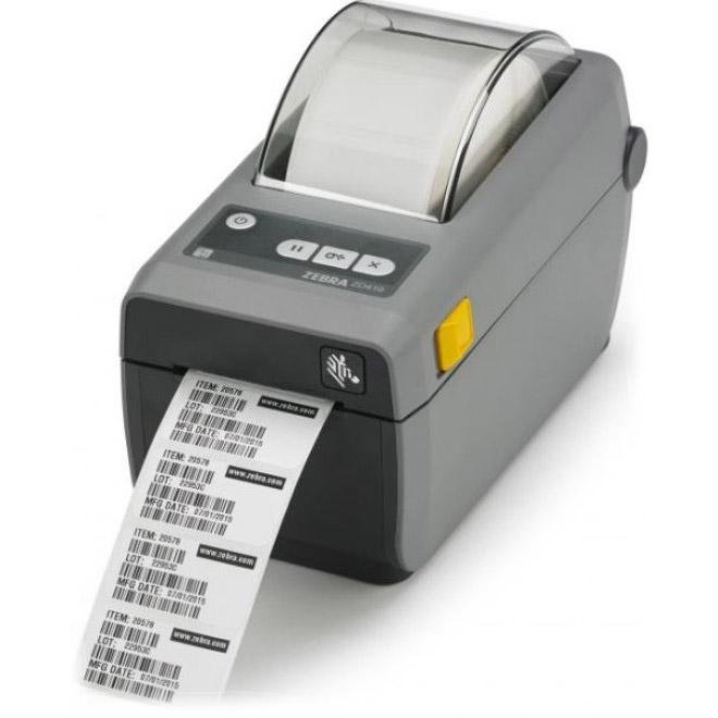 Принтер етикеток ZEBRA ZD410 (USB, Ethernet) (ZD41022-D0EE00EZ)