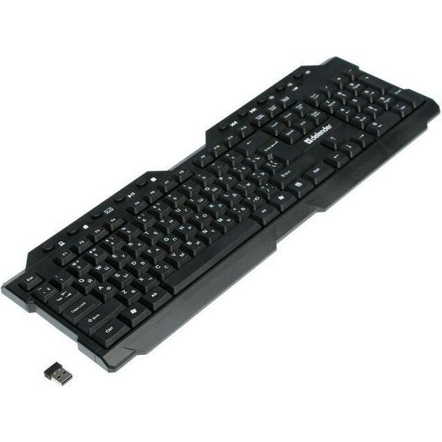 Клавіатура бездротова DEFENDER Element HB-195 (45195)