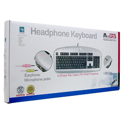 Клавіатура A4TECH KBS-28MU Silver