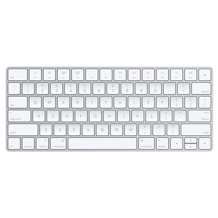 Клавіатура бездротова APPLE A1644 Magic Keyboard (MLA22RU/A)