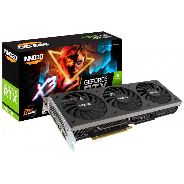 Відеокарта INNO3D GeForce RTX 3080 Ti X3 LHR (N308T3-126X-1810VA44)
