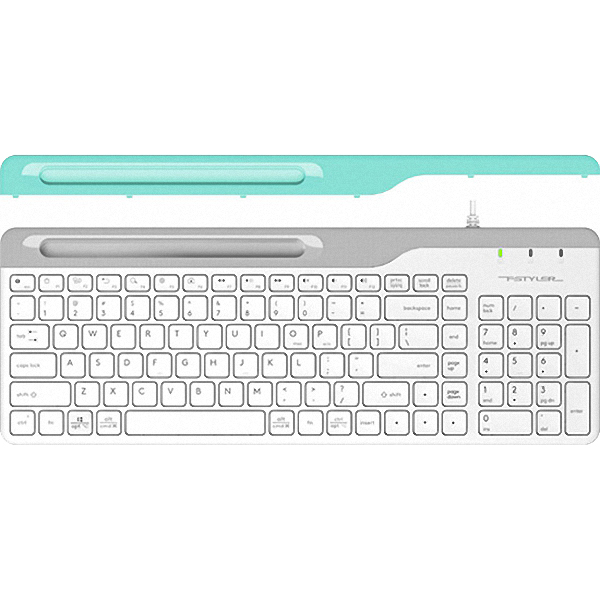 Клавіатура A4TECH Fstyler FK25 White