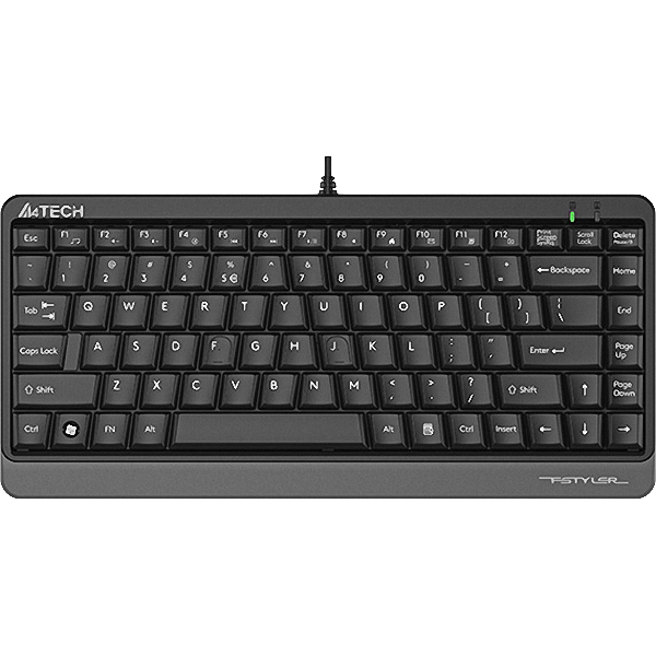 Клавіатура A4TECH Fstyler FKS11 Gray