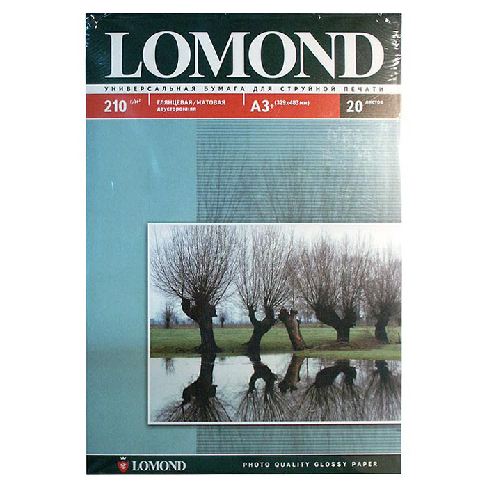 Фотопапір LOMOND A3+ 210г/м² 20л (0102027)