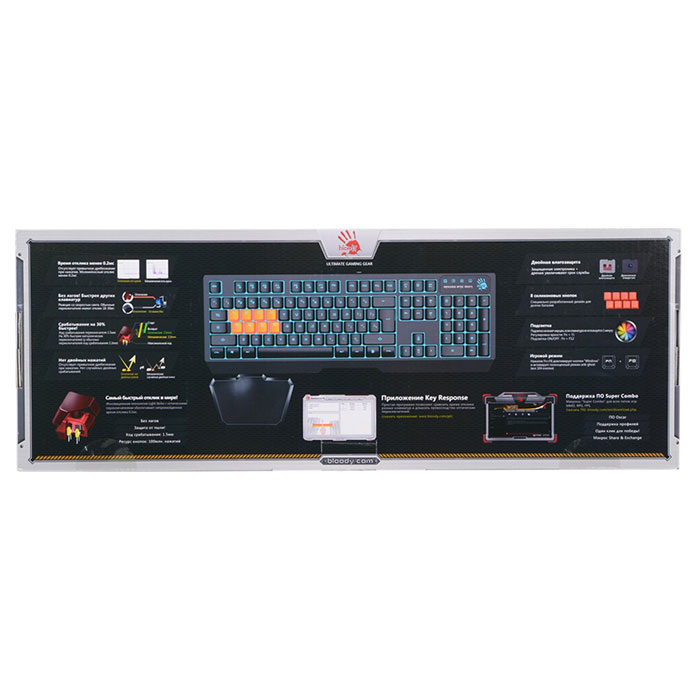 Клавіатура A4-Tech BLOODY B188